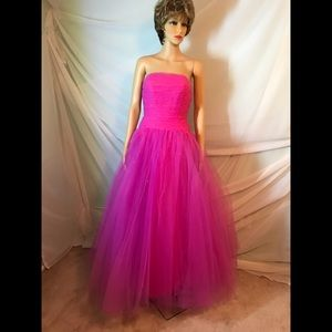 Marilee Sequin Tulle Ball Gown
